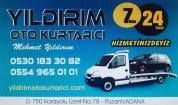 Yıldırım Oto Kurtarıcı Pozantı Adana